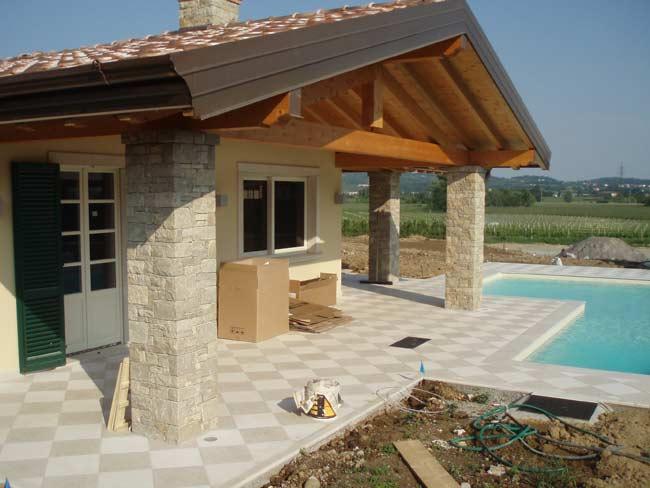Decorazione ville residenze e giardini in pietra cava for Pietra di credaro rivestimenti