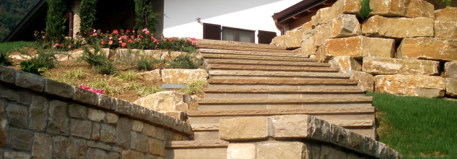Cava bettoni vera pietra di credaro estrazione - Scale in giardino ...